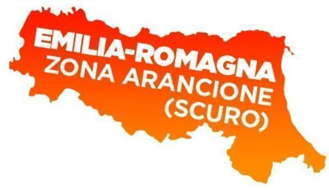 La Romagna passa in zona arancione scuro
