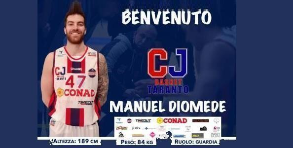 CJ Taranto: preso Manuel Diomede!