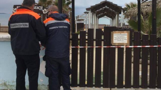 Taranto, sequestrato lido abusivo a Marina di Chiatona