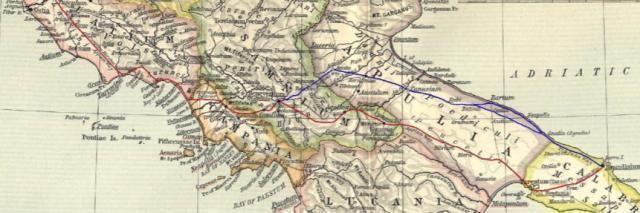 """Enac : delegazioni provinciali di Benevento e Brindisi sulla via Appia""""Regina Viarum"""""""