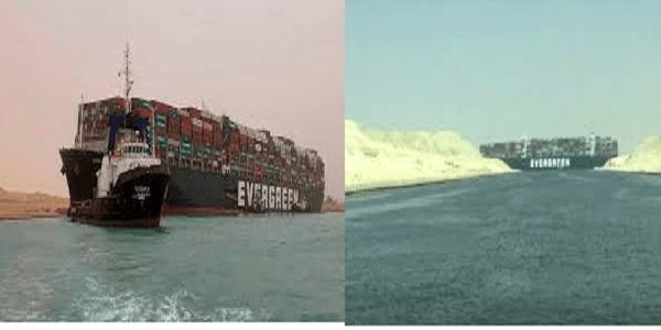 Il Canale di Suez bloccato per un incidente, vale il 12% del commercio mondiale
