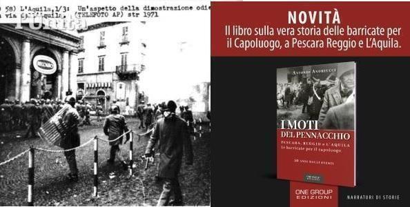 A 50 anni i Moti del Pennacchio in un libro imminente di Antonio Andreucci