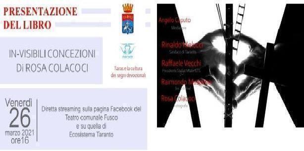 Taranto – In-visibili concezioni, il libro fotografico di Rosa Colacoci