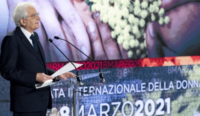 8 marzo, Mattarella: femminicidio 'fenomeno impressionante'