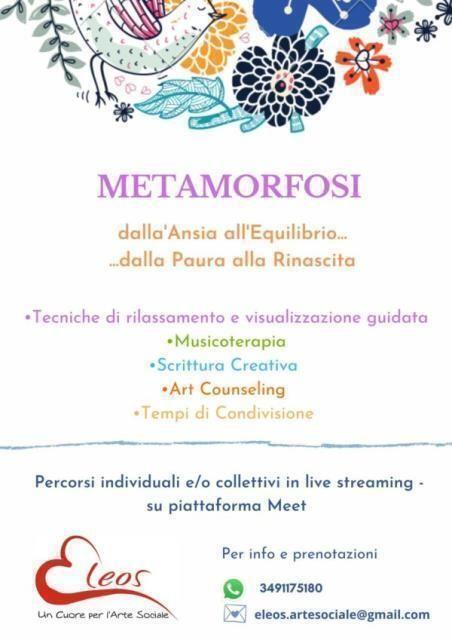 """""""Metamorfosi: dall'Ansia all'Equilibrio…dalla Paura alla Rinascita"""""""