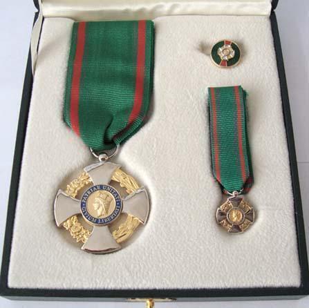Onorificenza di Cavaliere al Ten.Col.Fabio Ficuciello di San Severo