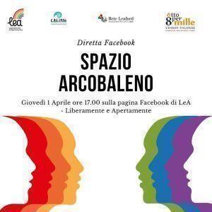 """Presentazione online delle nuove attività di """"Spazio Arcobaleno"""", sportello di consulenza psicologica LGBTQI*"""