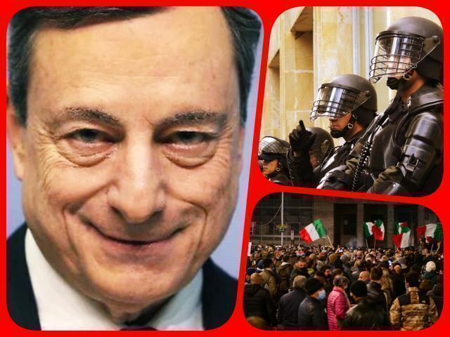 Draghi ci consegna all'Esercito