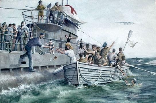 Il soldato altamurano Giovanni Colonna del 7° Rgt. Bersaglieri tra i superstiti del Laconia affondato da un sommergibile nel 1942