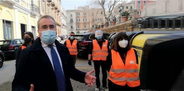Taranto – L'impegno di Melucci e Kyma Ambiente sui rifiuti