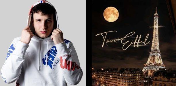 """Fuori ora nuovo singolo di Aiden """"Tour Eiffel"""" prodotto da Pi Greco"""