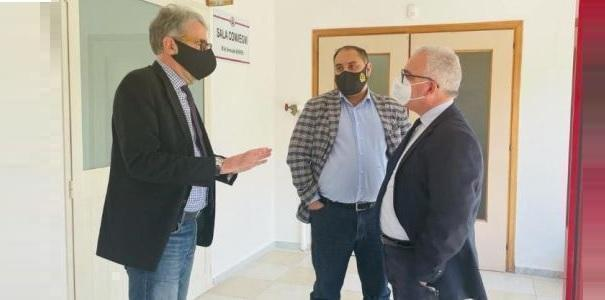 Visita al Comando della Polizia Municipale di Taranto col Sindaco Melucci
