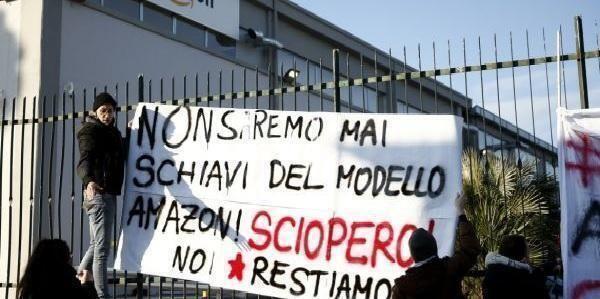 Taranto – Art1 Giovani intervengono sullo sciopero nazionale Amazon