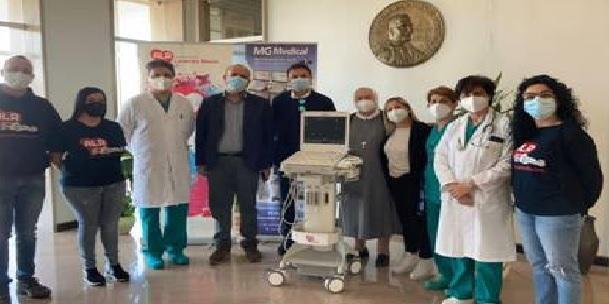 """ALR dona un Ecografo multidisciplinare all'Ospedale """"Panico"""" di Tricase"""