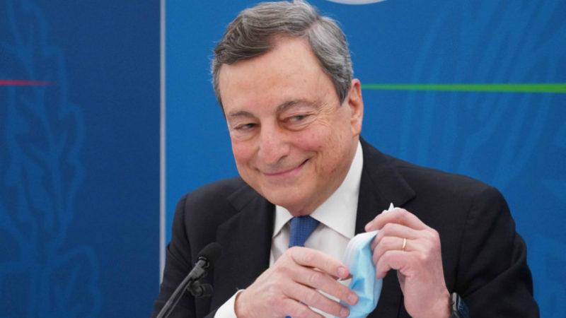 Draghi: l'ascesa di un nuovo leader nella Ue raccontata dai giornali