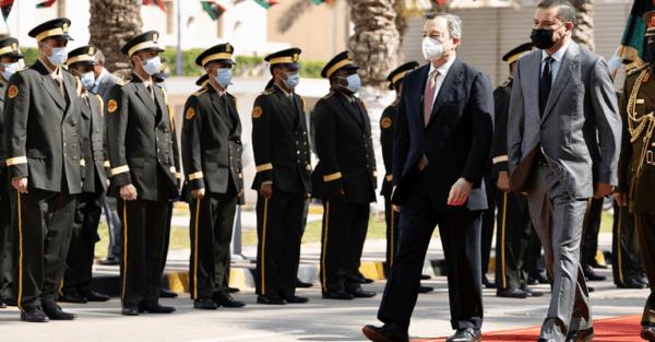 Draghi, 'momento unico' per rinsaldare rapporti con la Libia