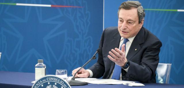 Draghi in Cdm tiene il punto su coprifuoco e restrizioni