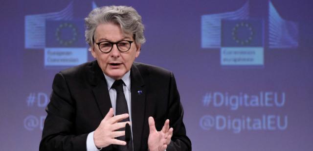 """Breton: """"In arrivo nei prossimi 3 mesi 54 milioni di dosi all'Italia"""""""