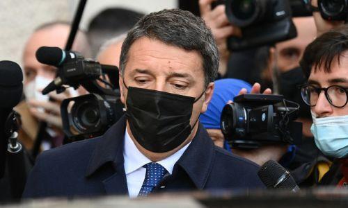 Renzi chiude a un'alleanza con il Pd se ci sarà anche M5s