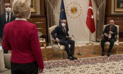 'Sofa gate', la politica condanna Erdogan: 'è arrogante e maschilista'