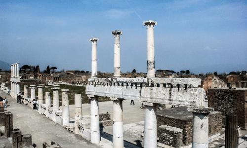 Un super hub turistico sorgerà accanto agli scavi di Pompei