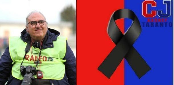 CJ Basket Taranto: il cordoglio per la morte di Ninni Cannella