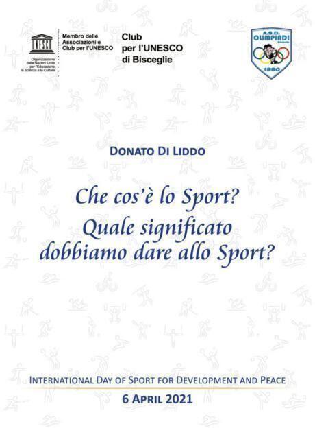 "I""Valori""protagonisti della 8° Giornata dedicata allo Sport"