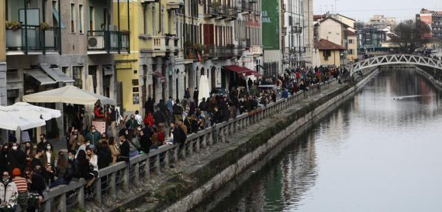 Approvato il decreto Covid, Italia arancione o rossa fino al 30 aprile