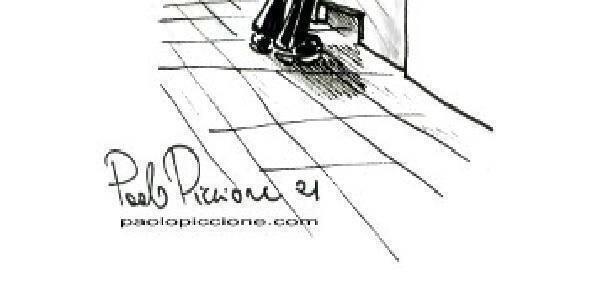 La notizia disegnata da Paolo Piccione… arrestati terroristi