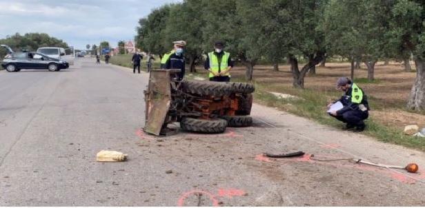 Tragedia della strada nel pomeriggio di ieri in provincia di Taranto