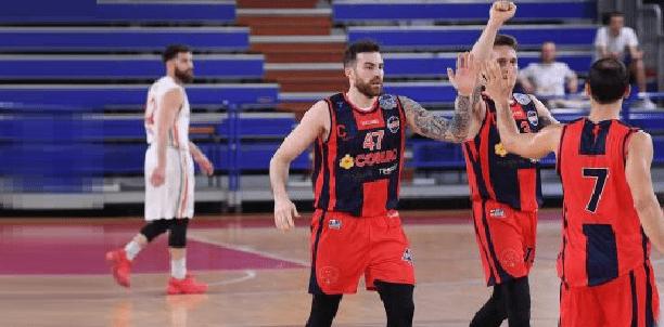 Salerno-CJ Basket 69-81: grande secondo tempo Taranto!
