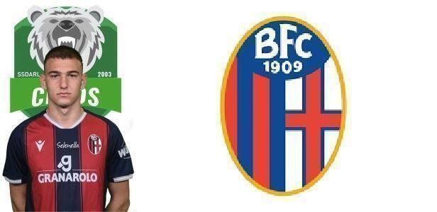 Taranto – Giovani Cryos, Mattia Motolese aggregato in prima squadra al Bologna