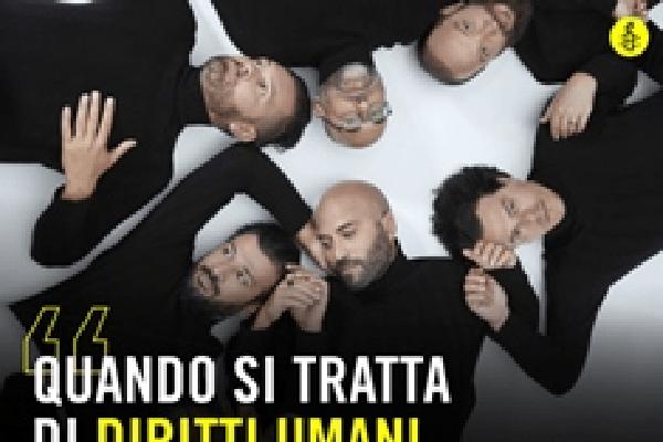 """Ai Negramaro il premio Amnesty per la miglior canzone sui diritti umani: """"dalle mie parti"""" vince nella sezione 'big'"""