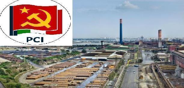 Taranto – Il PCI invita i lavoratori ad aderire allo sciopero del 14 aprile indetto da USB