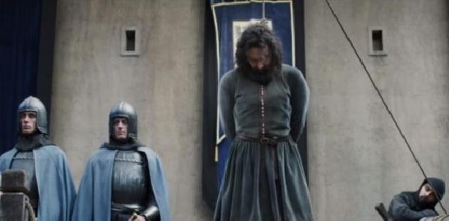 Televisione, un Leonardo quasi impiccato che si salva per ventura