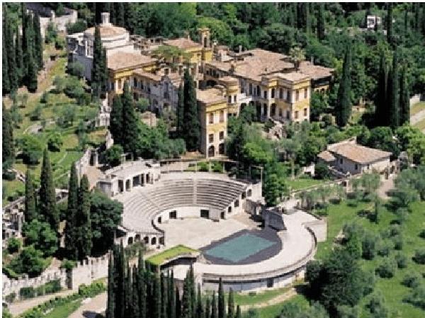 Riportata a nuova vita la casa di D'Annunzio