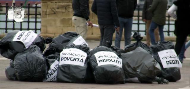 Taranto – Confcommercio, sit in sul lungomare contro la crisi
