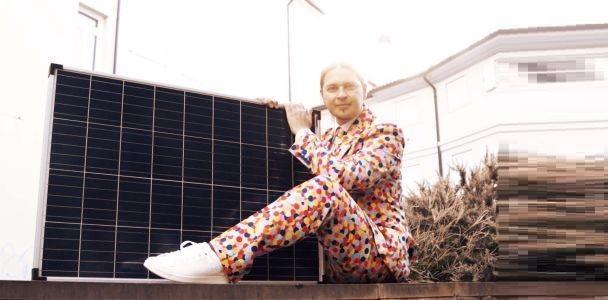 """Marco Zorzetto con """"L'amore è un pannello solare"""""""