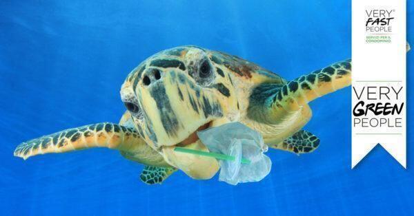 """Condominio plastic free per un futuro più sostenibile """"VeryGreenPeople"""" la campagna green di VeryFastPeople"""