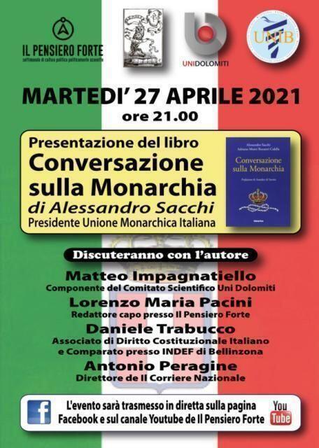 """Presentazione libro """"Conversazione sulla Monarchia"""""""