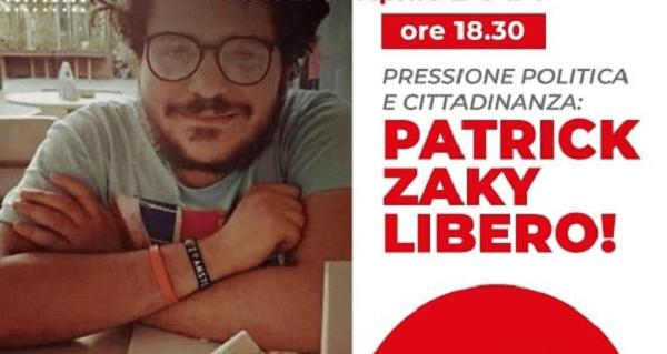 Iniziativa su Patrick Zaki