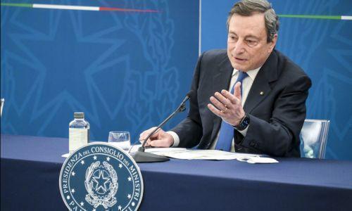 Draghi dice sì al ritorno della zona gialla dal 26 aprile