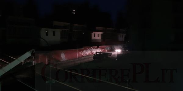 Melfi, Via Venezia e dintorni completamente al buio