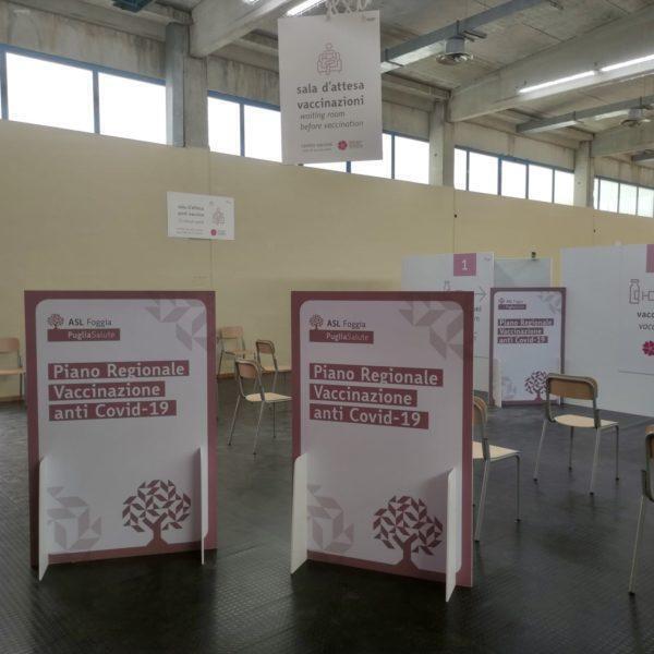 """San Giovanni Rotondo: operativo da domani il nuovo hub vaccinale presso la palestra dell'istituto tecnico """"Di Maggio"""""""