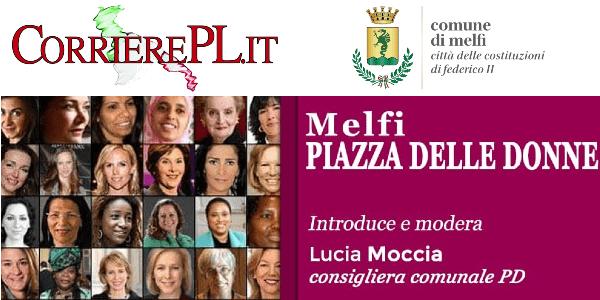 """Melfi, Rubrica """"Piazza delle Donne"""" domani in diretta Facebook"""