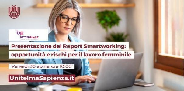 Donna e smartworking, ora c'è un report