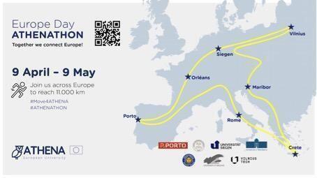 """Athenathon"""", la maratona social delle Università europee a difesa di ambiente e clima"""