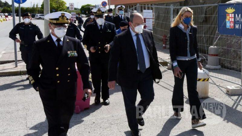Sottosegretario alla Difesa Pucciarelli in visita a Barletta presso PMA