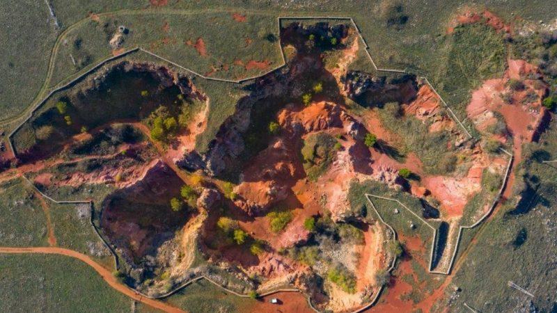 L'ente Parco nazionale dell'Alta Murgia riqualifica la suggestiva ex miniera di bauxite