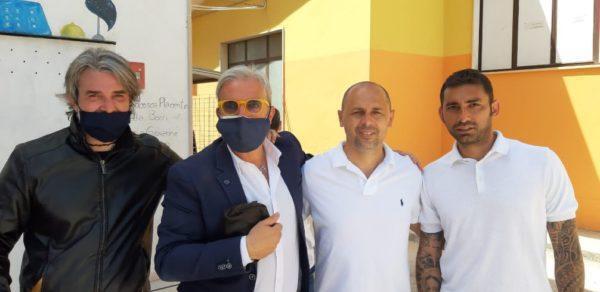 """Un campo di calcio, per onorare la memoria del compianto Professor Paolo Pinto. L'iniziativa dell'I.P.E.O.A.""""Michele Lecce"""""""